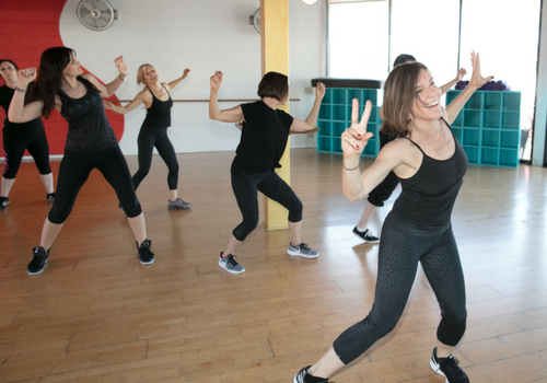 SWERVE Studio LA Personal Training and Group Fitness_dance class