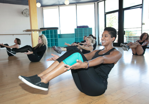 SWERVE Studio LA Personal Training and Group Fitness_fitness class