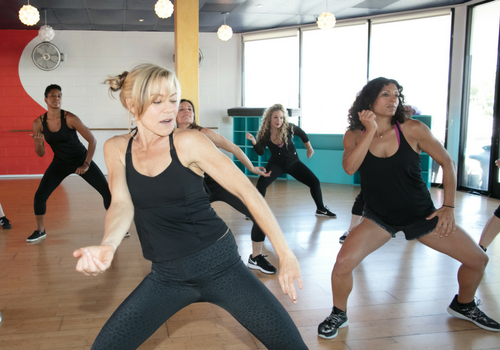 SWERVE Studio LA Personal Training and Group Fitness_yoga booty ballet